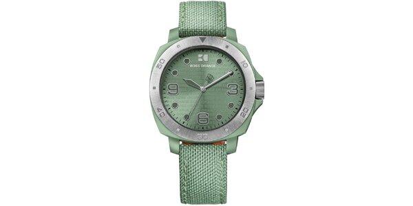 Dámské zelené analogové hodinky Hugo Boss Orange