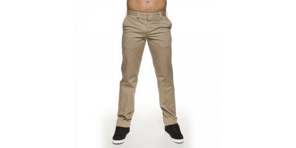 Pánské světle béžové kalhoty Lois