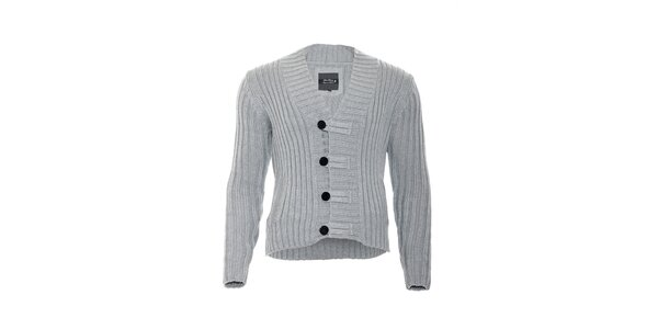 Pánský šedý pulovr značky Lois