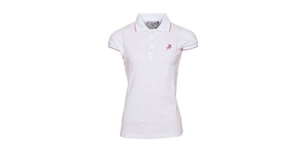 Dámské bílé bavlněné tričko Lois
