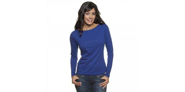 Dámské fialové tričko Lois s dlouhým rukávem