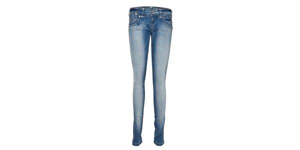 Dámské světle modré džínové kalhoty Lois