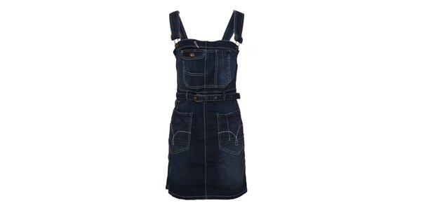 Dámské džínové šaty Lois s laclem
