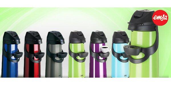 Výprodej! Přenosné termosky v hravých barvách (1,9 l)