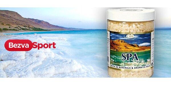 Léčivá zkoncentrovaná sůl z Izraele