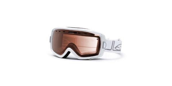 Dámské lyžařské brýle Smith v bílé barvě