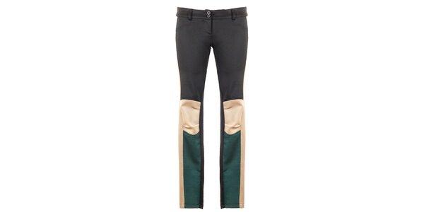 Dámské trojbarevné kalhoty Hype