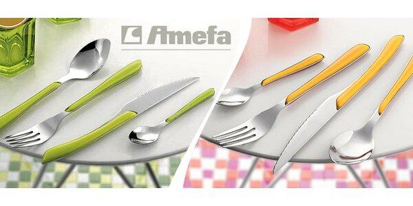 Luxusní sady příborů Amefa v různých barvách. Výprodej!