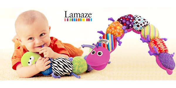 Hudební housenka Lamaze