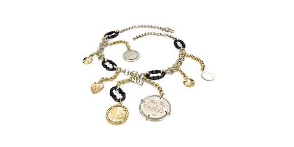 Dámský náhrdelník s přívěsky Dolce&Gabbana