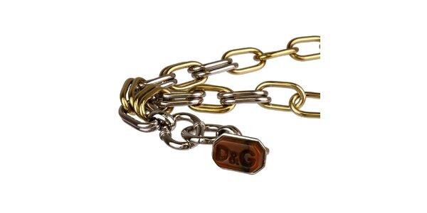 Dámský ocelový náhrdelník s přívěskem Dolce&Gabbana