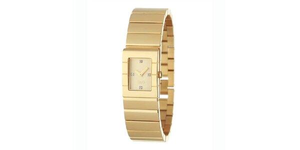 Dámské ocelové náramkové hodinky Dolce & Gabbana zlaté