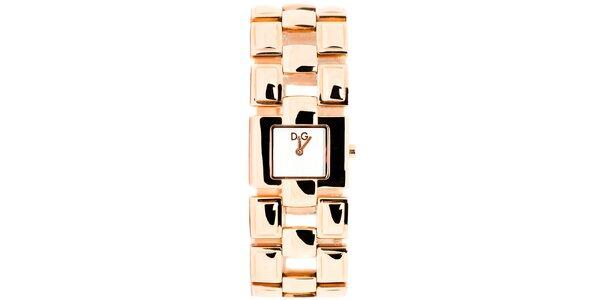 Dámské zlatorůžové hodinky Dolce&Gabbana
