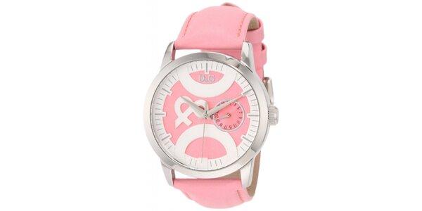 Dámské růžové hodinky Dolce & Gabbana
