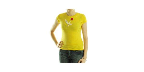 Dámské žluté tričko Custo Barcelona