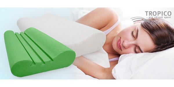Anatomické polštáře Tropico pro zdravý spánek