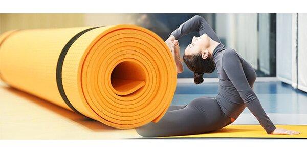 Pěnová podložka na cvičení jógy i pilates