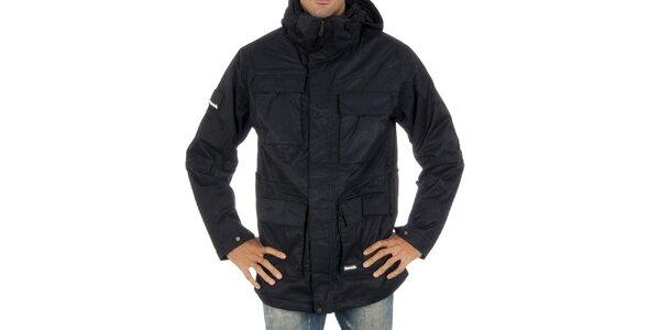 Pánská černá snowboardová bunda s proužkem Bench