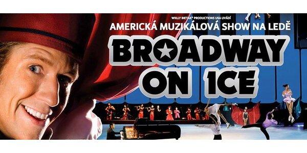 Vstupenka na Broadway On Ice. Muzikál na ledě! Poprvé v ČR