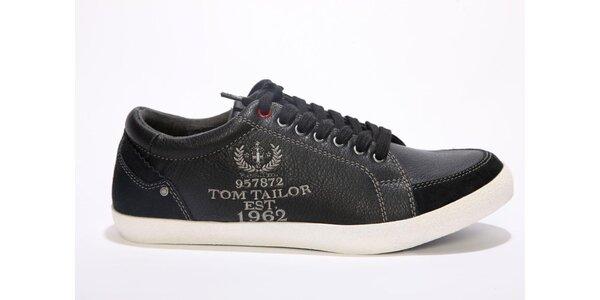 Pánské černé tenisky Tom Tailor