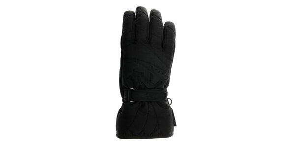 Dámské černé sjezdové rukavice Reusch s membránou