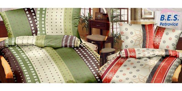 Saténové povlečení De Luxe ze 100% bavlny