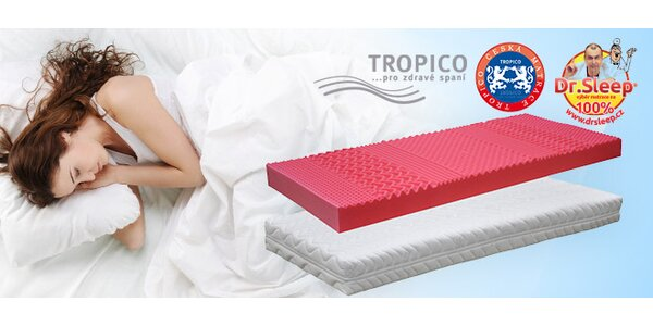Oboustranná anatomická matrace Tropico Berry. Výprodej!