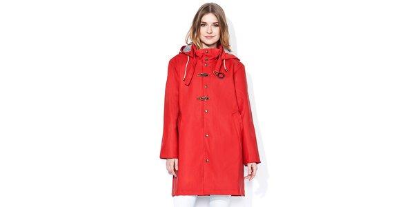 Zářivě červená pláštěnka s podšívkou Thjorsa