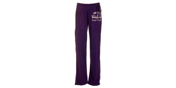 Dámské fialové domácí kalhoty Tom Tailor