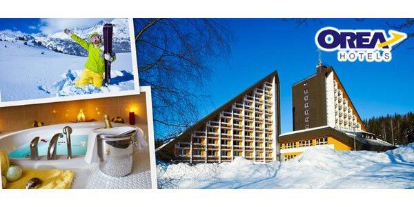 5denní ski a wellness pobyt pro dva v Harrachově
