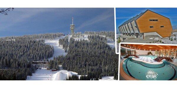 3-4denní lyžování a wellness pro 2 ve Skiareálu Klínovec