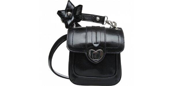 Dámská černá mini kabelka Fornarina
