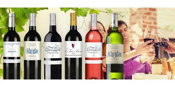 6 výborných vín z Bordeaux