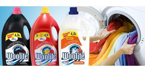 Prací gely Woolite - 4x 4,5 litru