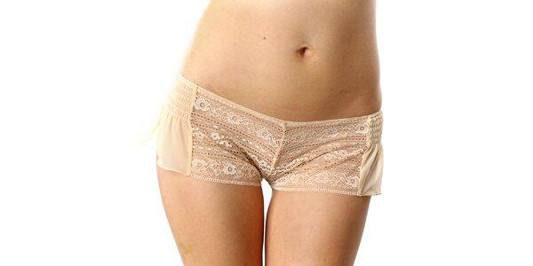 Dámské tělové krajkové bokovky DKNY
