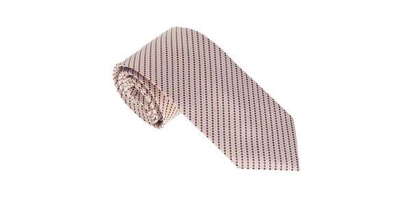 Luxusní kravata s puntíky Castellet Barcelona