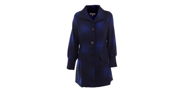 Dámský modře tónovaný kabátek DY Dislay Design