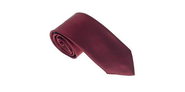 Luxusní pánská vínová kravata Castellet Barcelona