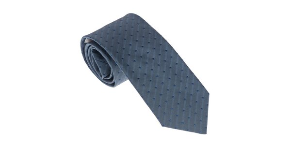 Luxusní modrá kravata Castellet Barcelona