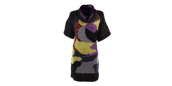 Dámské pletené barevné šaty DY Dislay Design