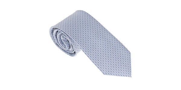 Luxusní světle modrá kravata Castellet Barcelona