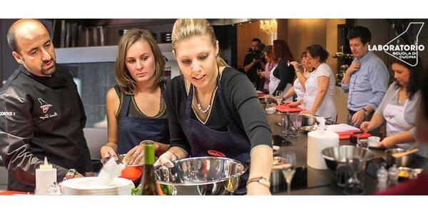 Kuchařské kurzy s vyhlášenou restaurací Aromi
