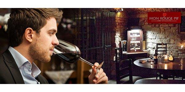 Degustace 8 francouzských vín P. Richarda a G. Depardieu