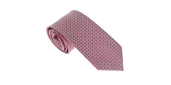 Luxusní světle fialová kravata Castellet Barcelona