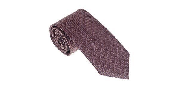 Luxusní fialová kravata Castellet Barcelona