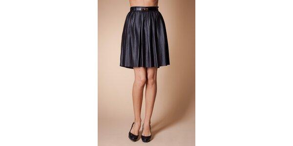 Dámská černá sukně Poete