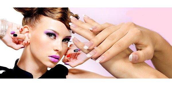 Aplikace gelových nehtů s kompletní manikúrou