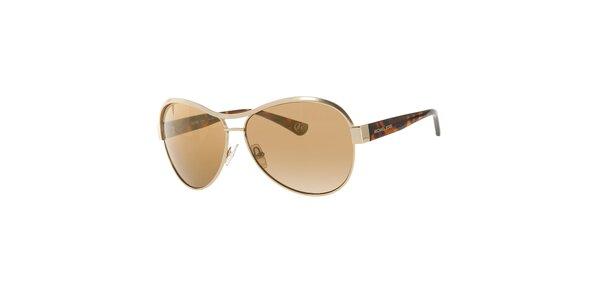Dámské zlatohnědé sluneční brýle Michael Kors