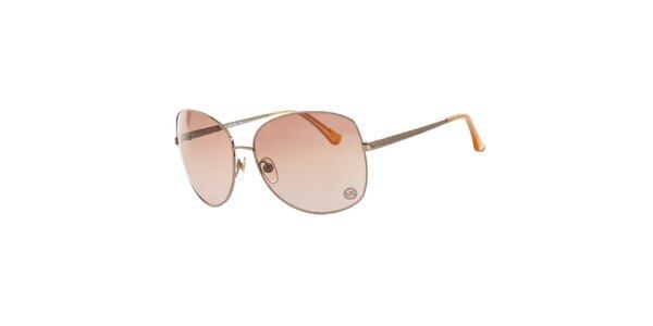 Dámské stříbrné sluneční brýle Michael Kors