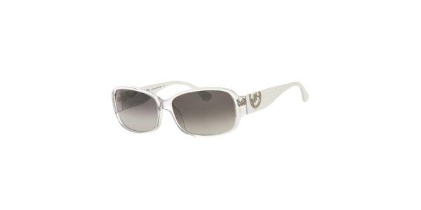 Dámské bílo-průhledné sluneční brýle Michael Kors